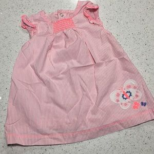 Carter's (18 month) stripped butterfly dress